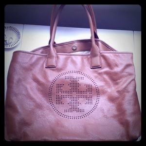 Perforated Tory Burch Bag brown